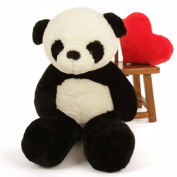 Giant Teddy  - 48in Big Panda Bear Ricky Xiong, $99.99 (http://www.giantteddy.com/48in-big-panda-bear-ricky-xiong/)
