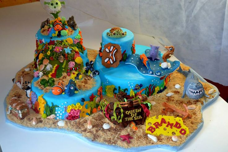 Finding Nemo - my best cake