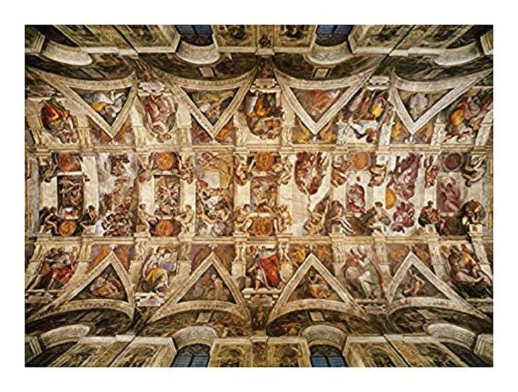 The Sistine Chapel Ceiling 1000 Piece Puzzle