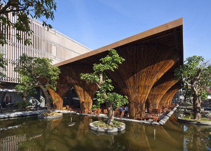Bambu como substituto do concreto armado