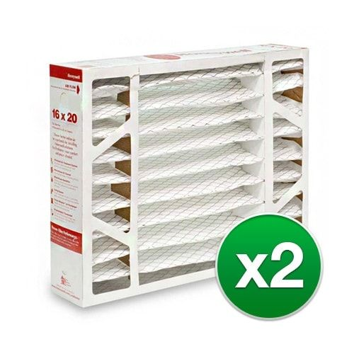 Replacement Pleated Air Filter for For Honeywell FC100A1003 Furnace 16 x 20 x 4 Merv 11 (2 Pack)