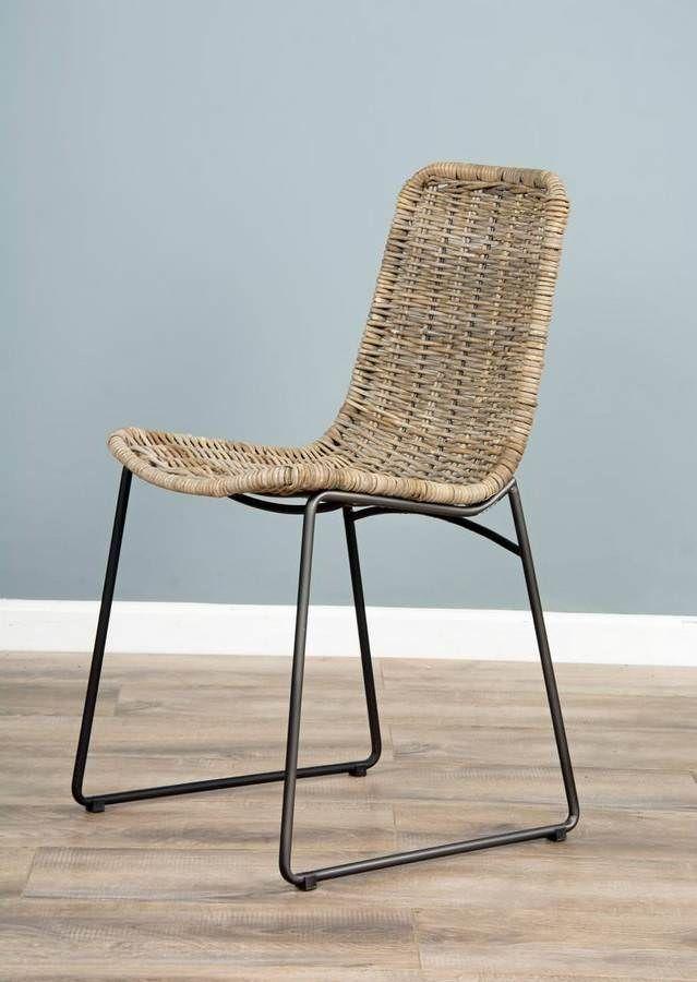 Urban Fusion Kubu Wicker Dining Chair In 2020 Wicker Dining
