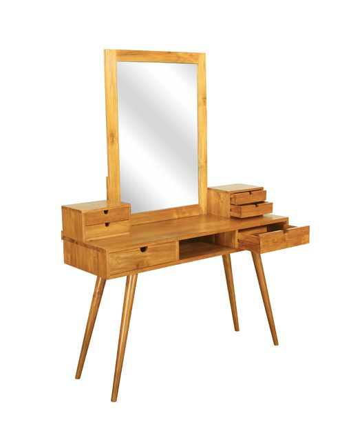 furniture singapore online solid teak wood dressing table scandinavian $559