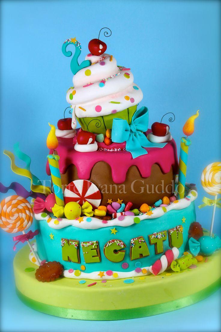 candy sweet cake
