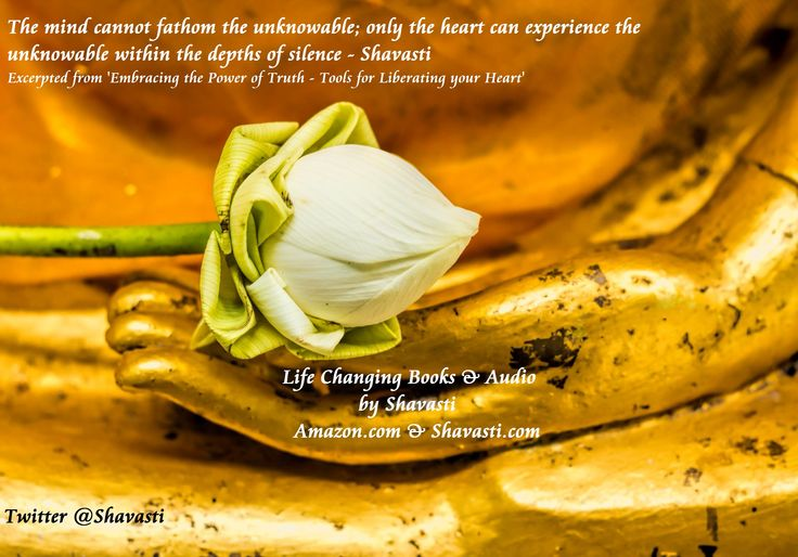 only the heart can experience the unknowable in the depths of silence - Shavasti  #Books #spiritualbooks #Authors #Satsang #Kindle #audiobooks #Healing #spirituality #Amazon #Findhorn