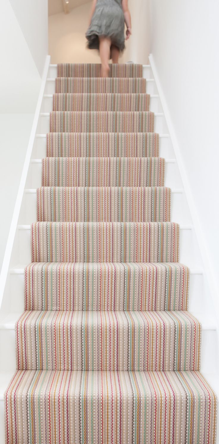 Light, Bright, Moritz Multi from Roger Oates #StairsandStripes