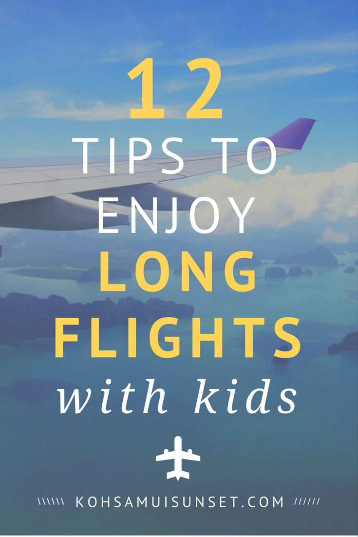 Long Flight with Children: How to Enjoy Long-Haul Flights with Kids + Tips