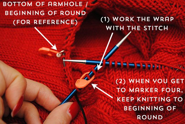 Today I have a big ol' knitting tutorial for you! I'm going to show you a technique I sometimes use to seamlessly knit sleeves that look set-in. If you're not a fan of seaming, th…