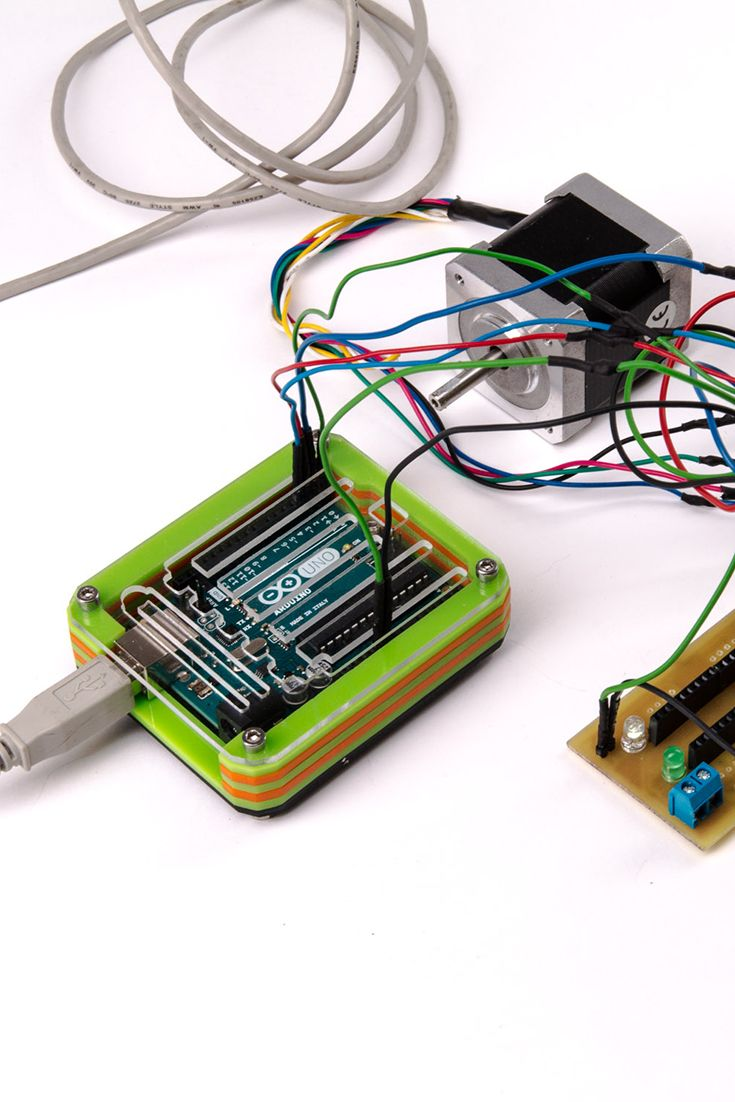 They protect the electronics and look really cool. #Arduino #DIY
