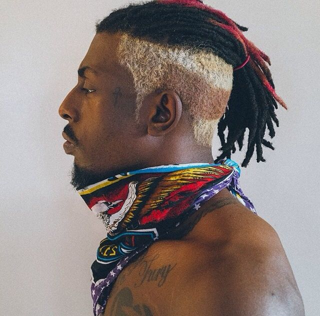 dyed freeform dreads - Google Search