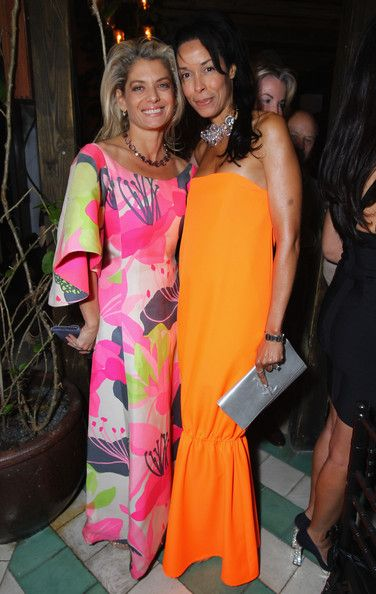 Kim Heirston Photos Photos - Angela Ismailos and Kim Heirston attend the Phillips De Pury dinner and dancing hosted by Simon de Pury at Cecconi's Soho Beach House Miami on December 1, 2011 in Miami Beach, Florida. - Phillips de Pury Dinner At Cecconi's Soho Beach House Miami To Celebrate Art Basel