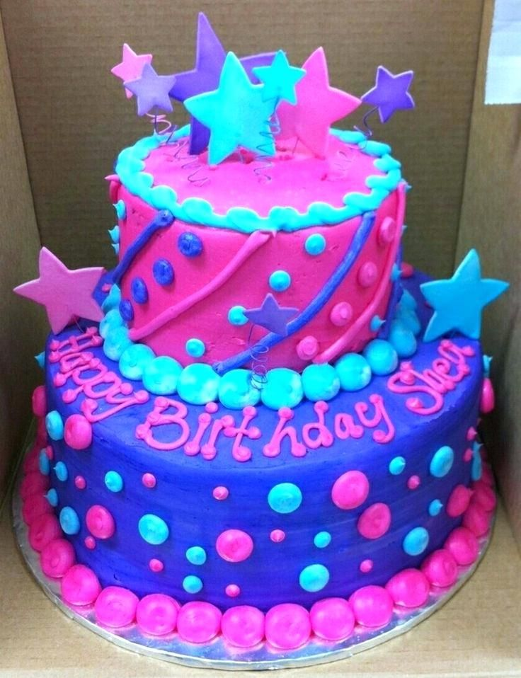 Image Result For Cute 8 Year Old Girl Birthday Cakes With Images