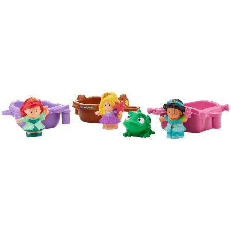 Fisher-Price Little People Disney Princess Bath Princess Boats - Walmart.com