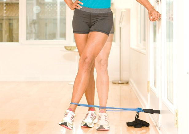 Doorway Resistance-Band Adductor Pull