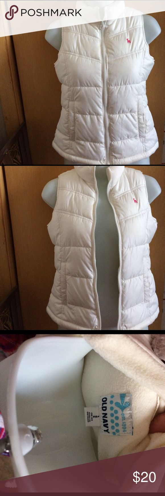 old navy vest size Large!! brand from Od Navy! good for spring and fall season 10-12  size Old Navy Jackets & Coats Vests