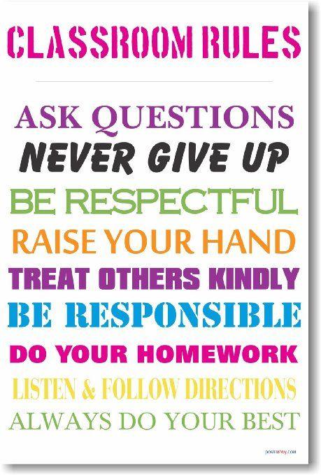 Modern Classroom Rules ~ Best images about rebecca newteacher kit on pinterest
