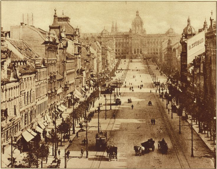 prague 1900 | Wenceslas Square, Prague, Czech Republic, 2013