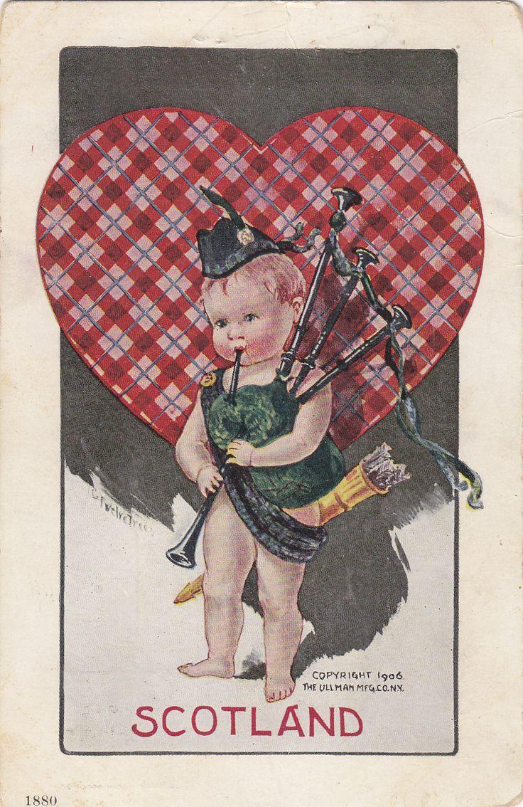 National Cupids in 2020 Vintage valentine cards, Vintage