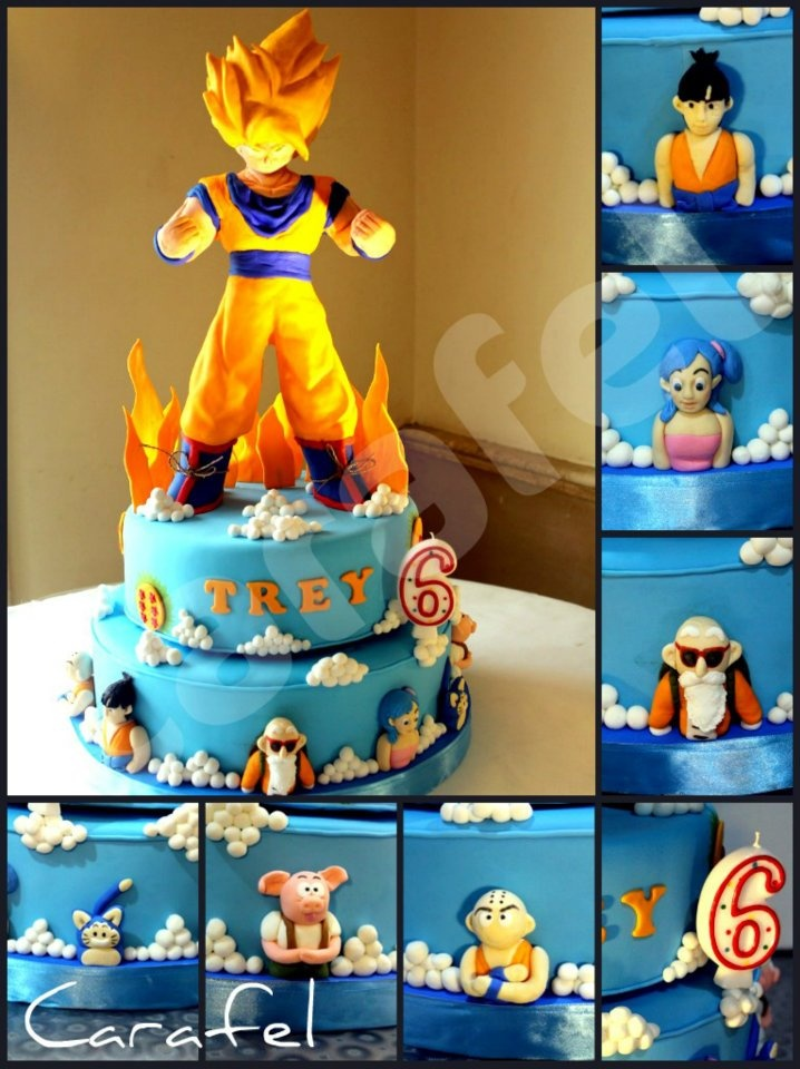Dragon Ball Party Decorations 23 Best Dragonball Z Party Images On Pinterest  Dragons Birthday