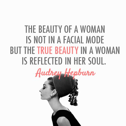 We've collected 68 of the BEST Audrey Hepburn Quotes available along with the best images we could find! I believe in pink quotes and other Audrey Quotes