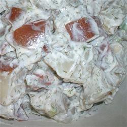 Dill Potato Salad Recipe (baked macaroni potlucks)