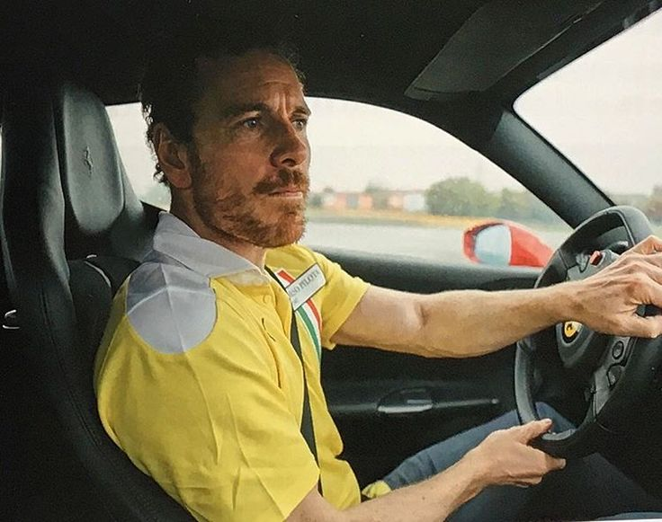 Michael Fassbender Learns to Drive (And I learn to Leer at Michael Fassbender) via @ferrariusa [LINK IN BIO] #ferrari #michaelfassbender #interview