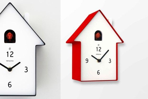 diamantini domeniconi r volutionne l horloge coucou. Black Bedroom Furniture Sets. Home Design Ideas
