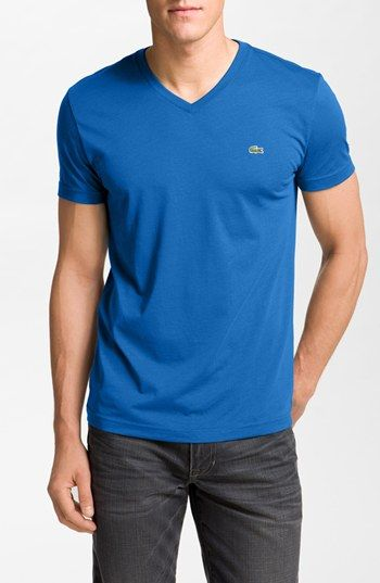 Lacoste V-Neck T-Shirt available at #Nordstrom