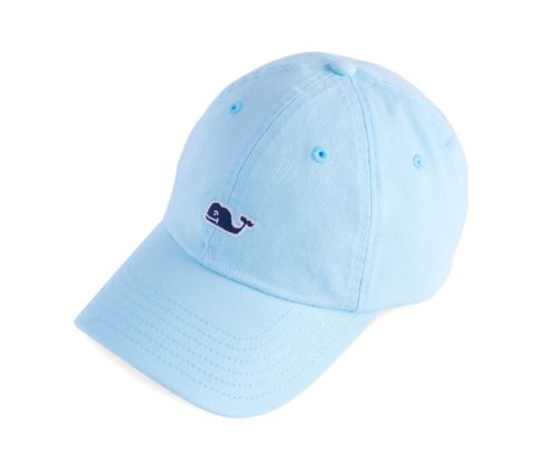 Vineyard Vines Womens Classic Baseball Hat - Crystal Blue