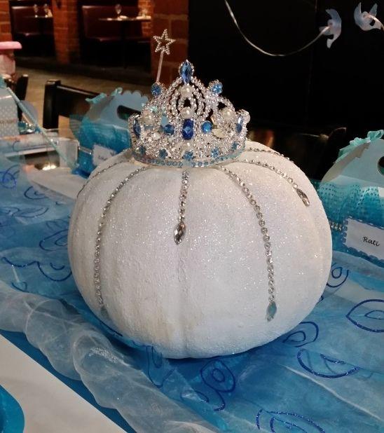 Cinderella#blinged real pumpkin