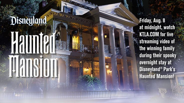 Watch Our Disneyland Park Haunted Mansion Live Stream