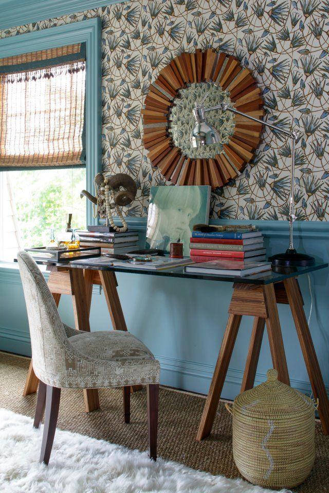 Interior Infatuations: Office, Bedroom Designer Katie, Showhouse Bedroom, Living Room, Vanity Table, Designer Showhouse, Katie Leede