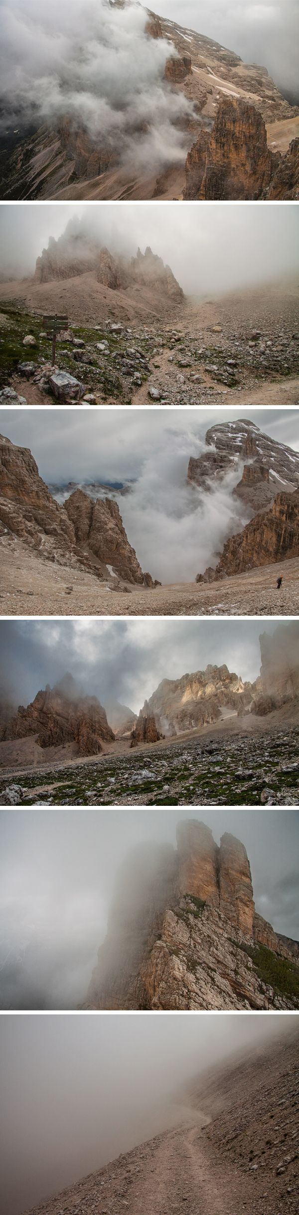 I'm happy to share another collection of high quality nature photos, these ones taken in the Dolomites mountain range...