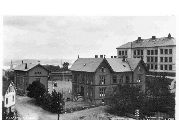 Kragerø i Telemark fylke Skolen utg Küenholdt