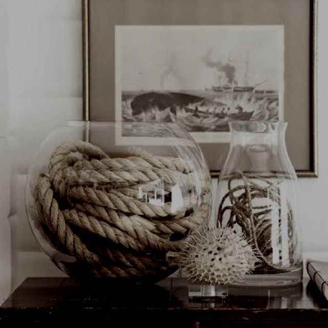 Brooke baird rane baird rane williams this is for you coastal decor beach house - Nautical rope decorating ideas ...