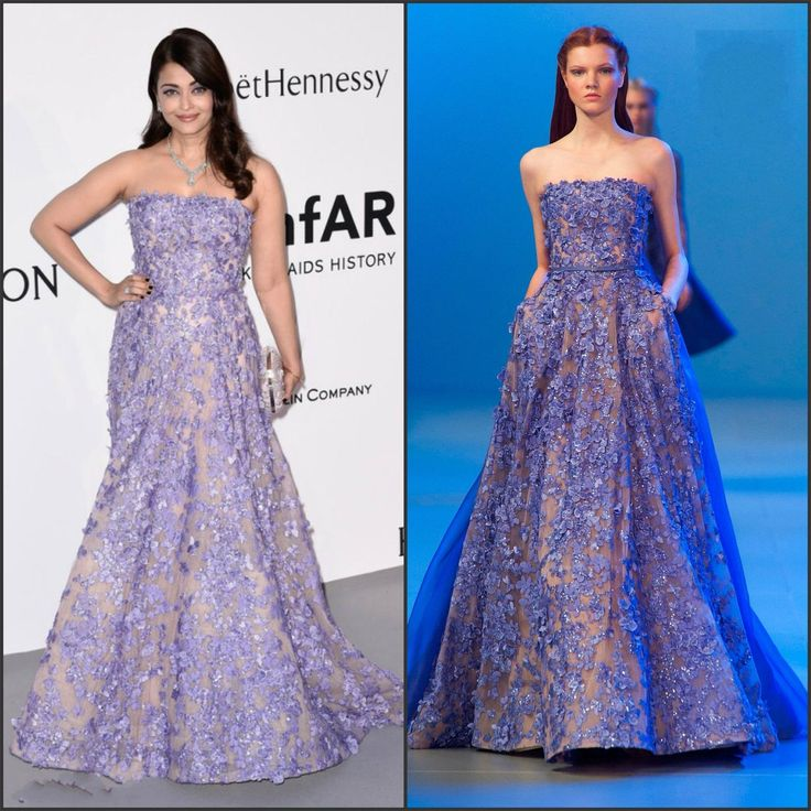 Exclusive Evening Dresses Aishwarya Rai Elie Saab Runway Evening Dresses 2015 Strapless Neck A Line Sleeveless Appliqued Sequins Formal Winter Gowns With Sweep Train Ladies Dresses Online From Nicedressonline, $267.02| Dhgate.Com