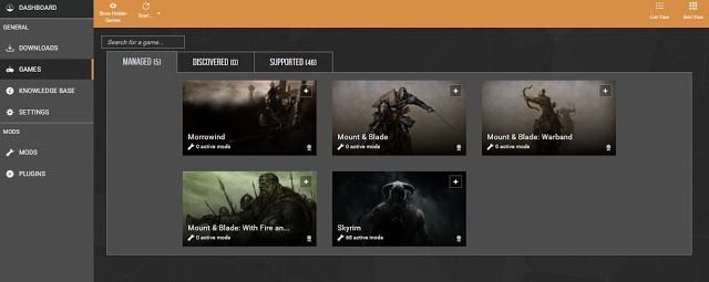 Nexus Mods Vortex   Fun Gaming   Fun games, Free, Desktop screenshot