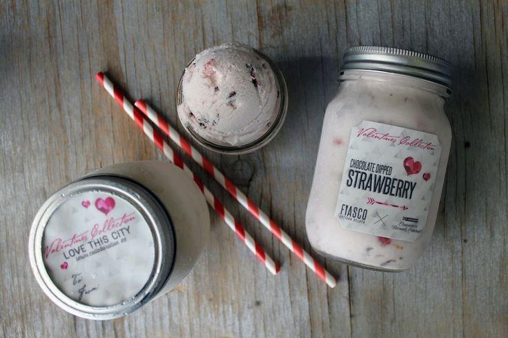 Chocolate Dipped Strawberry / Fiasco Gelato