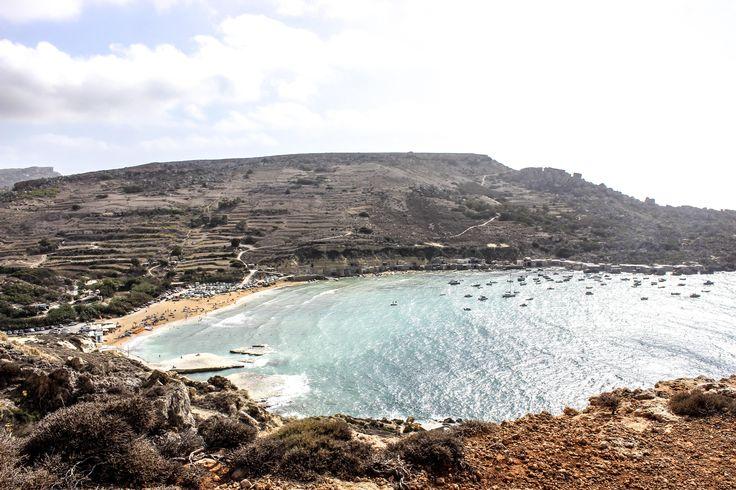 Gnejna Bay in Malta