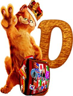 P ~Alfabeto de la película de Garfield 2.