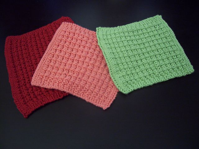Waffle Knit Dishcloth Pattern : 17 Best images about Beckys Sampler Baby Blanket on Pinterest Free pat...