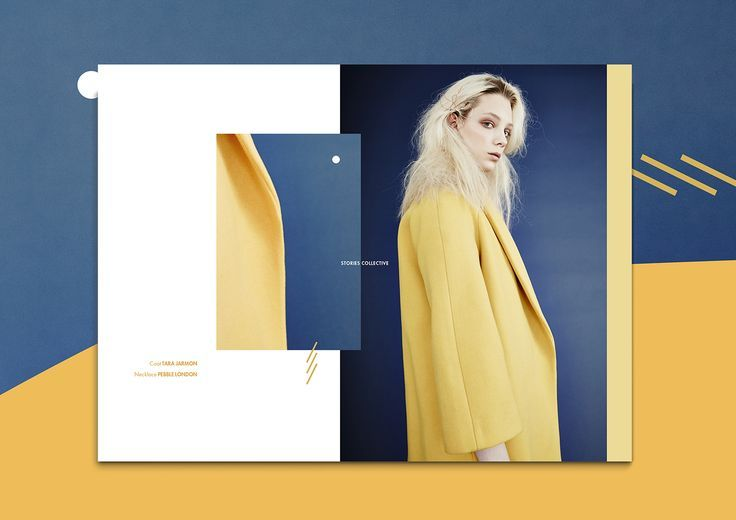 I just stumbled on this stunning editorial composition by Italian graphic designer Isabella Conticello for Stories Collective. The online platform is filled with inspiring fashion stories through a