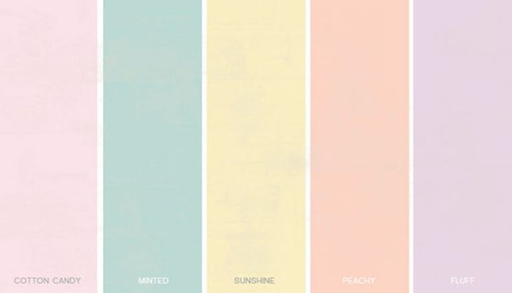 shabby chic paint colorsShabby Chic Color Palette  Home Design  Architecture  Cilifcom