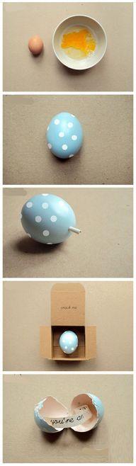 DIY Message Eggs diy - http://demfab.com/diy-message-eggs-diy/
