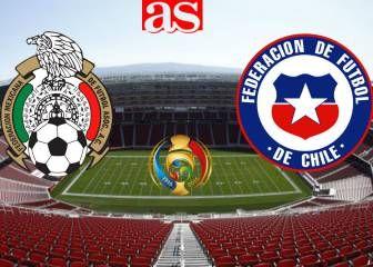 México vs Chile (0-7): Resumen del Partido y goles.