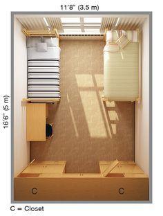 Best 25 Dorm Room Layouts Ideas On Pinterest Dorm Room