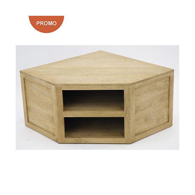 les 25 meilleures id es de la cat gorie meuble tv angle. Black Bedroom Furniture Sets. Home Design Ideas