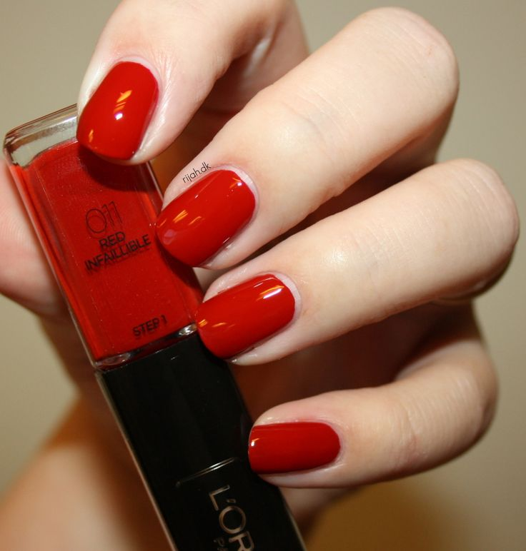 58 Best Images About Nails-Reds On Pinterest