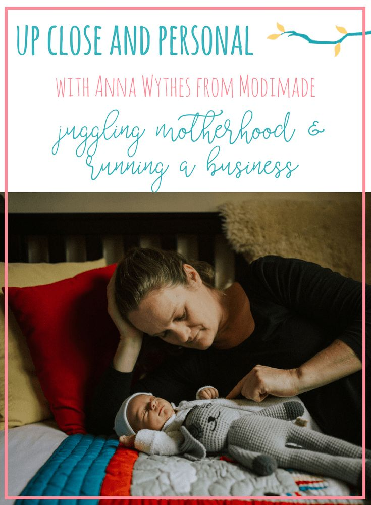Today I am thrilled to welcome the lovely Anna Wythes, owner of Modimade, to The Nursery Collective Blog. We chat all about her new baby and how she's juggling motherhood with running her business