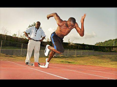 Usain Bolt - Training Session - YouTube